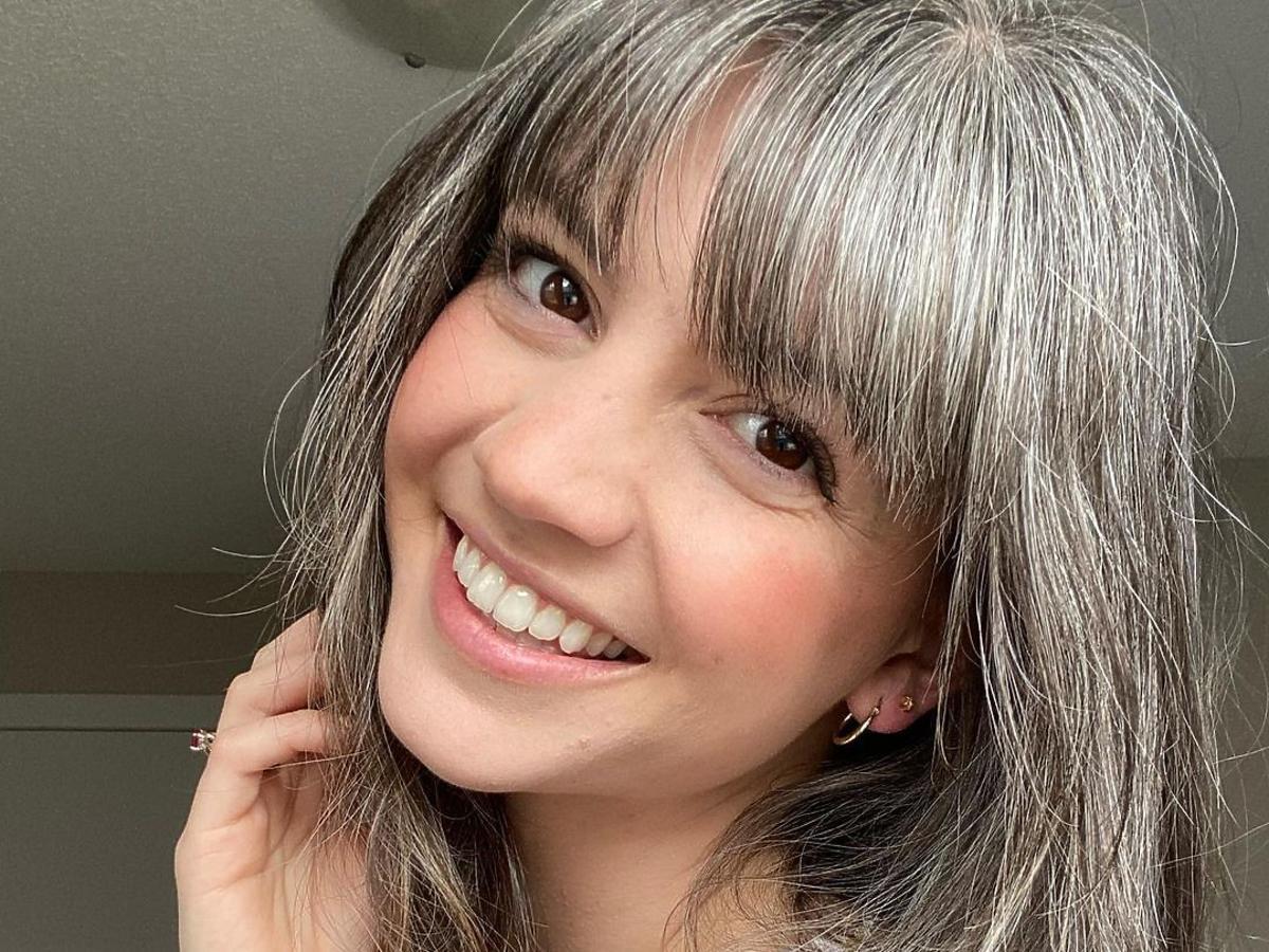 Lauren Midgley zaczęła siwieć w wieku 12 lat