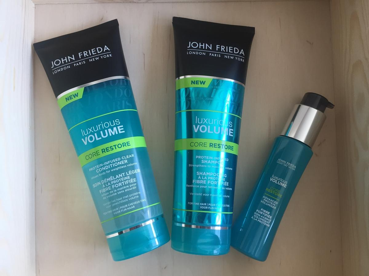 Linia Luxurious Volume Core Restore marki John Frieda