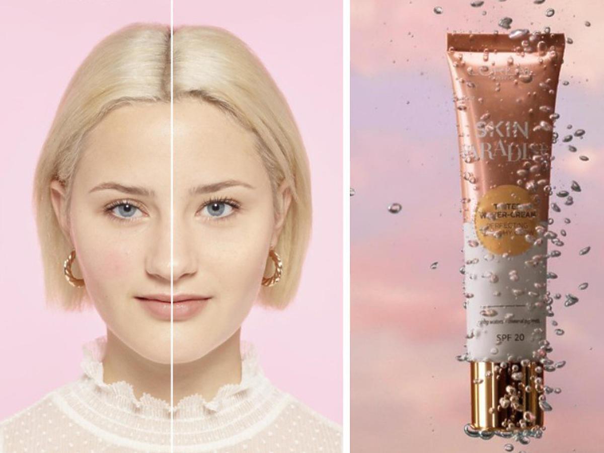 L'oréal Paris Skin Paradise - delikatny podkład i efekty na cerze