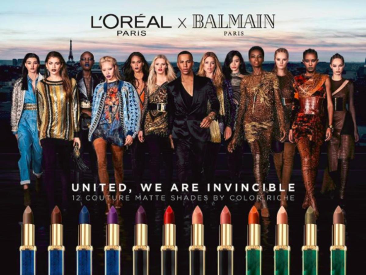 loreal i balmain - matowe szminki