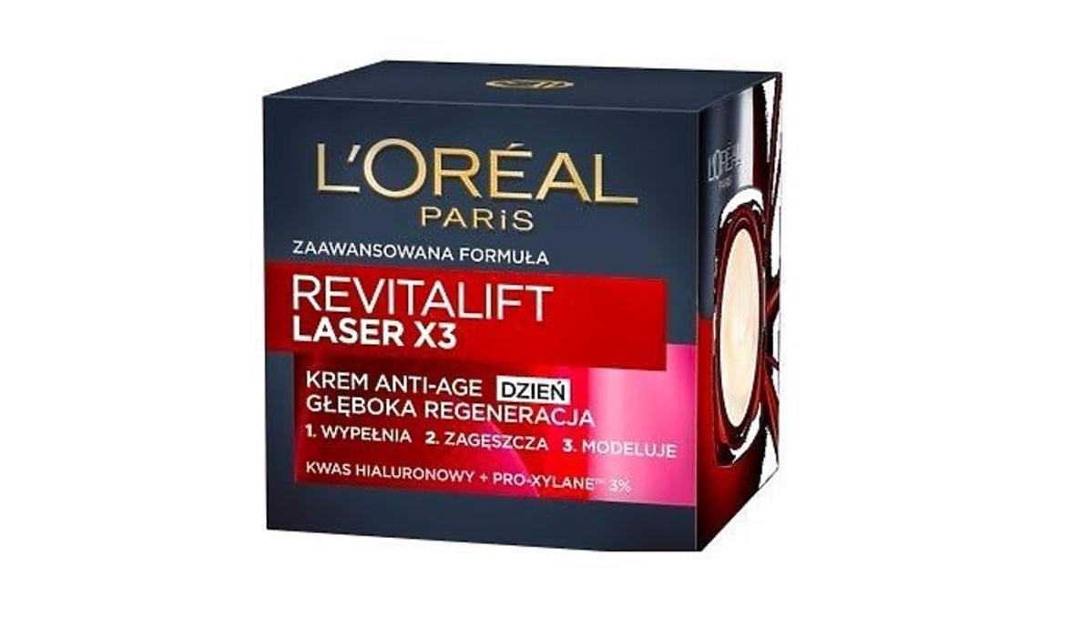 L'Oreal Paris Revitalift Filler Ha krem anti-age na na dzień z kwasem hialuronowym na promocji w Rossmannie