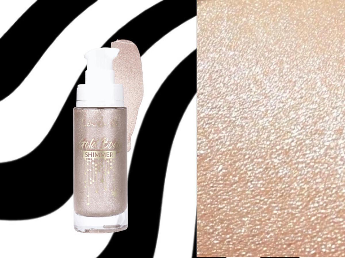 LOVELY Gold body Shimmer - rozświetlacz do ciała