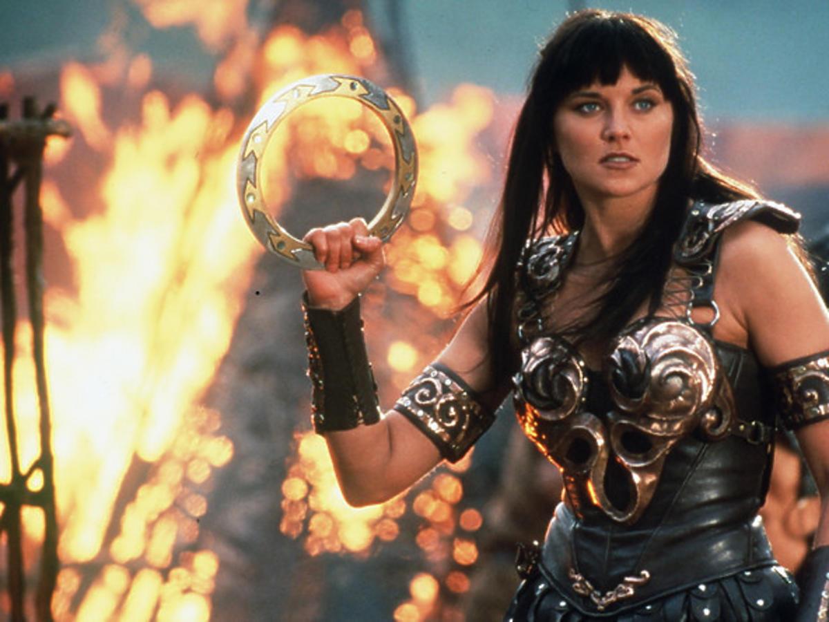 Lucy Lawless - Xena wojownicza księżniczka