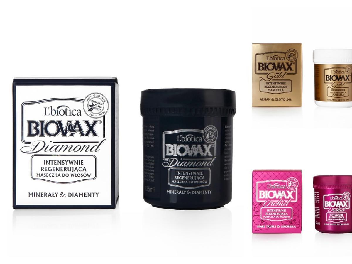 Luksusowe maski Biovax Glamour