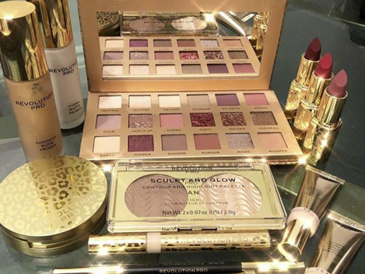 makeup revolution pro w rossmannie