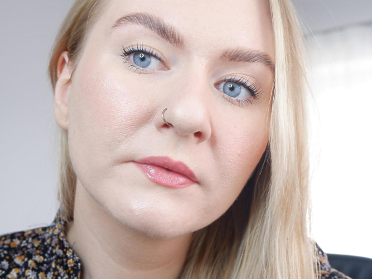 makijaż oczu wykonany serią Rimmel Wonder