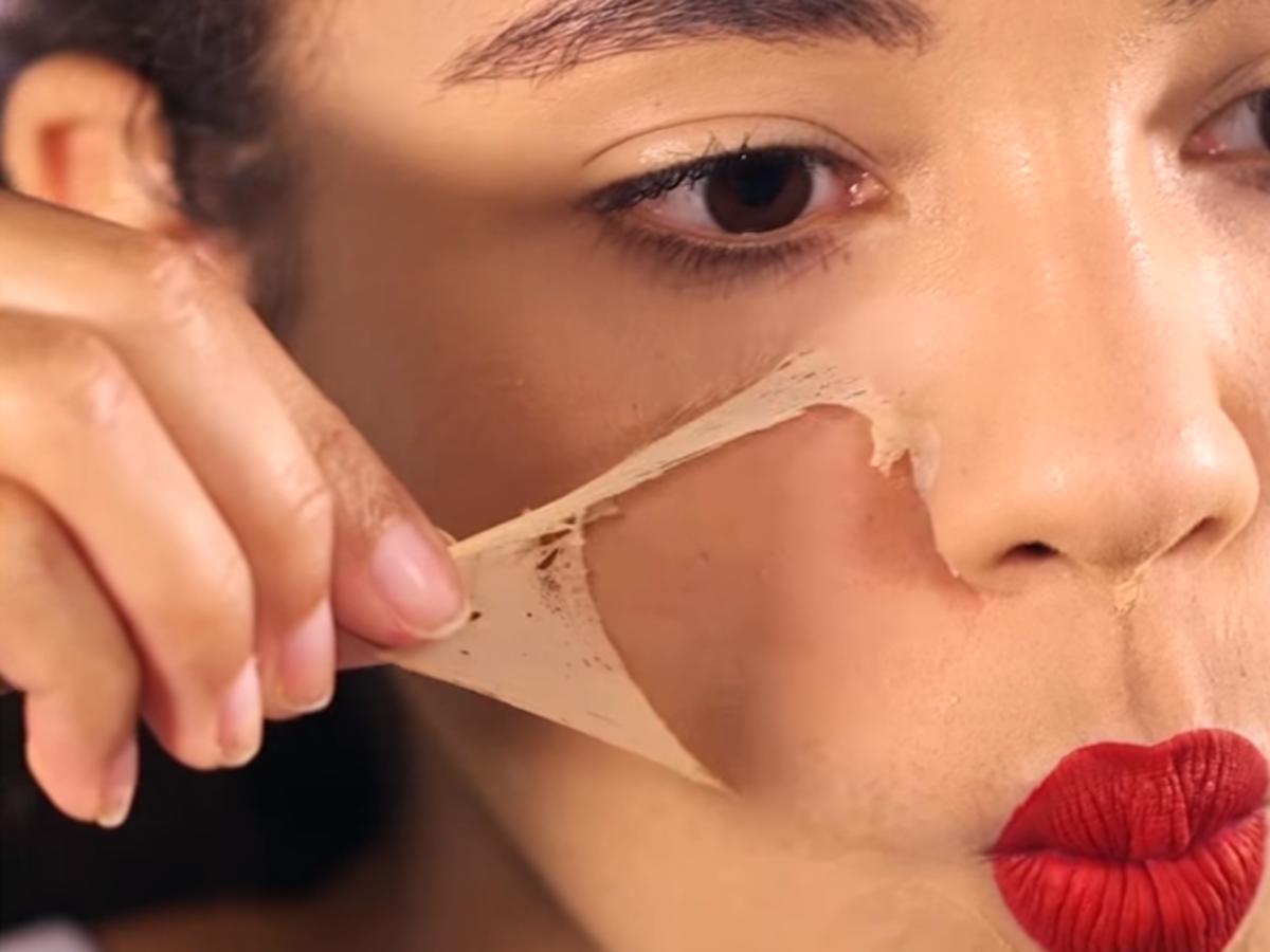 makijaż peel-off krem direcsil face shield