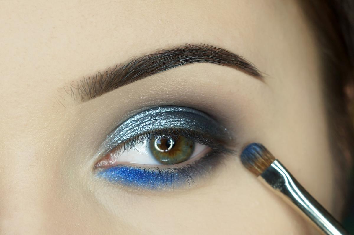makijaż z perfekcyjnym blendowaniem cieni