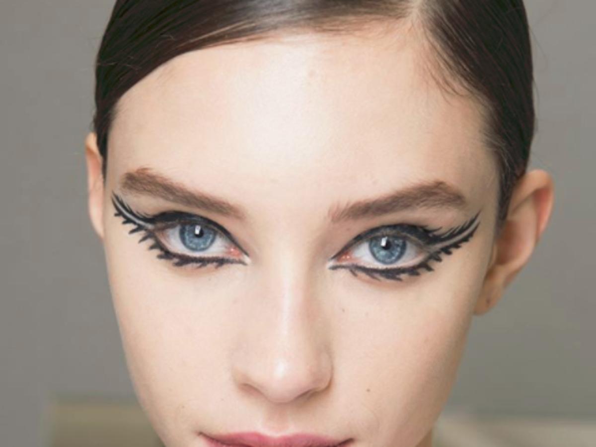 makijaż z pokazu diora