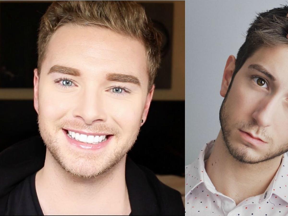 makijazowi vlogerzy faceci