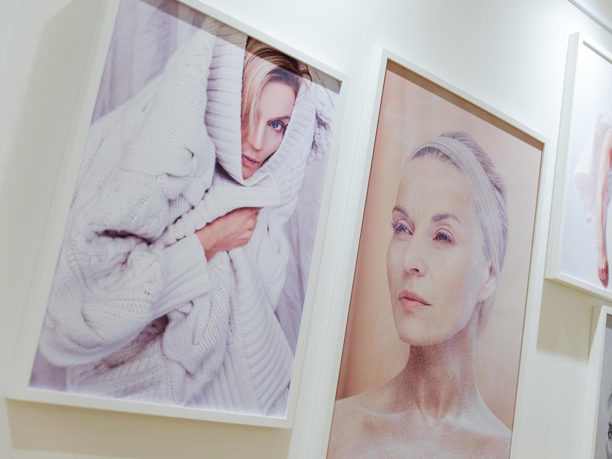 Małgorzata Foremniak na wystawie światłoczuli