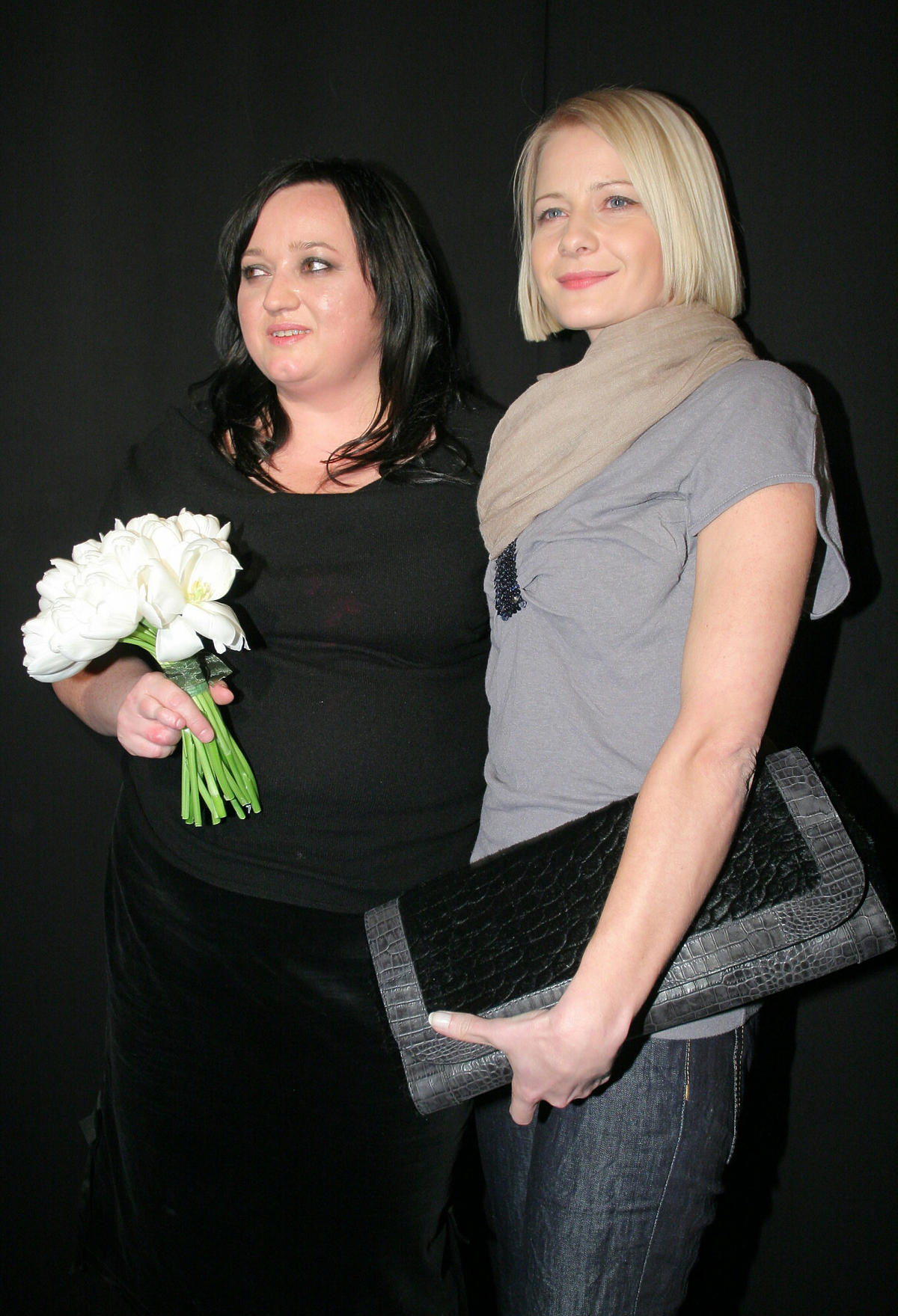 Małgorzata Kożuchowska i Gosia Baczyńska w 2008 roku