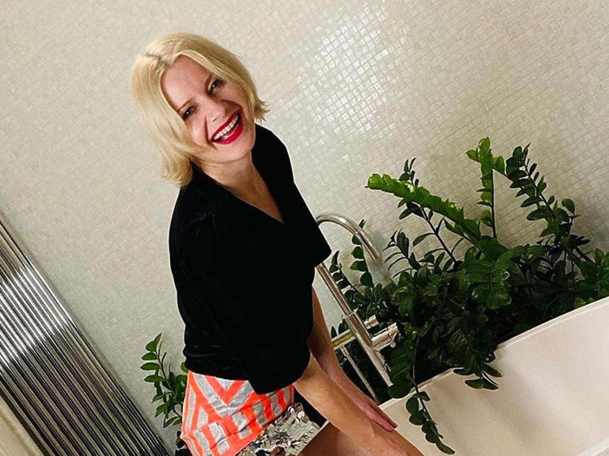 Małgorzata Kożuchowska pokazała swoją łazienkę