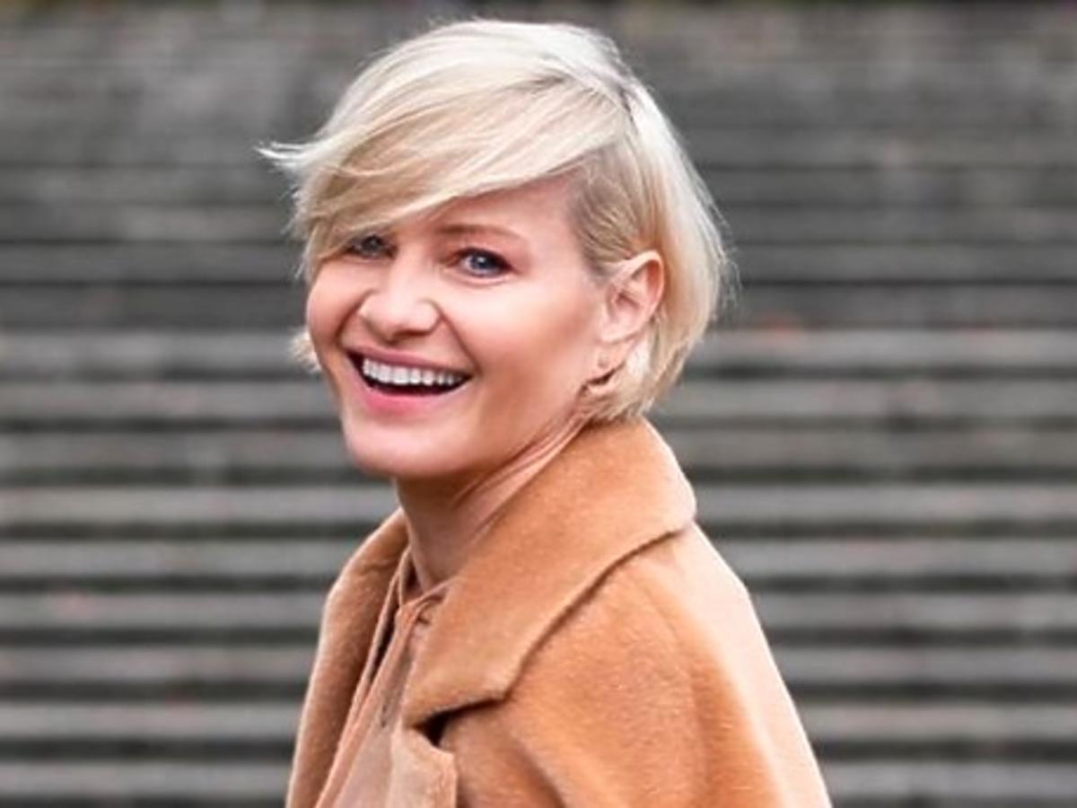 Małgorzata Kożuchowska w modnych botkach z CCC, idealnych na sezon jesień-zima 2020/2021