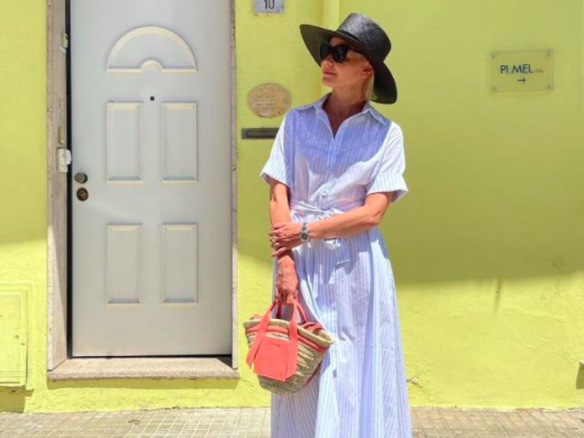 Małgorzata Kożuchowska w modnych klapkach na lato z CCC