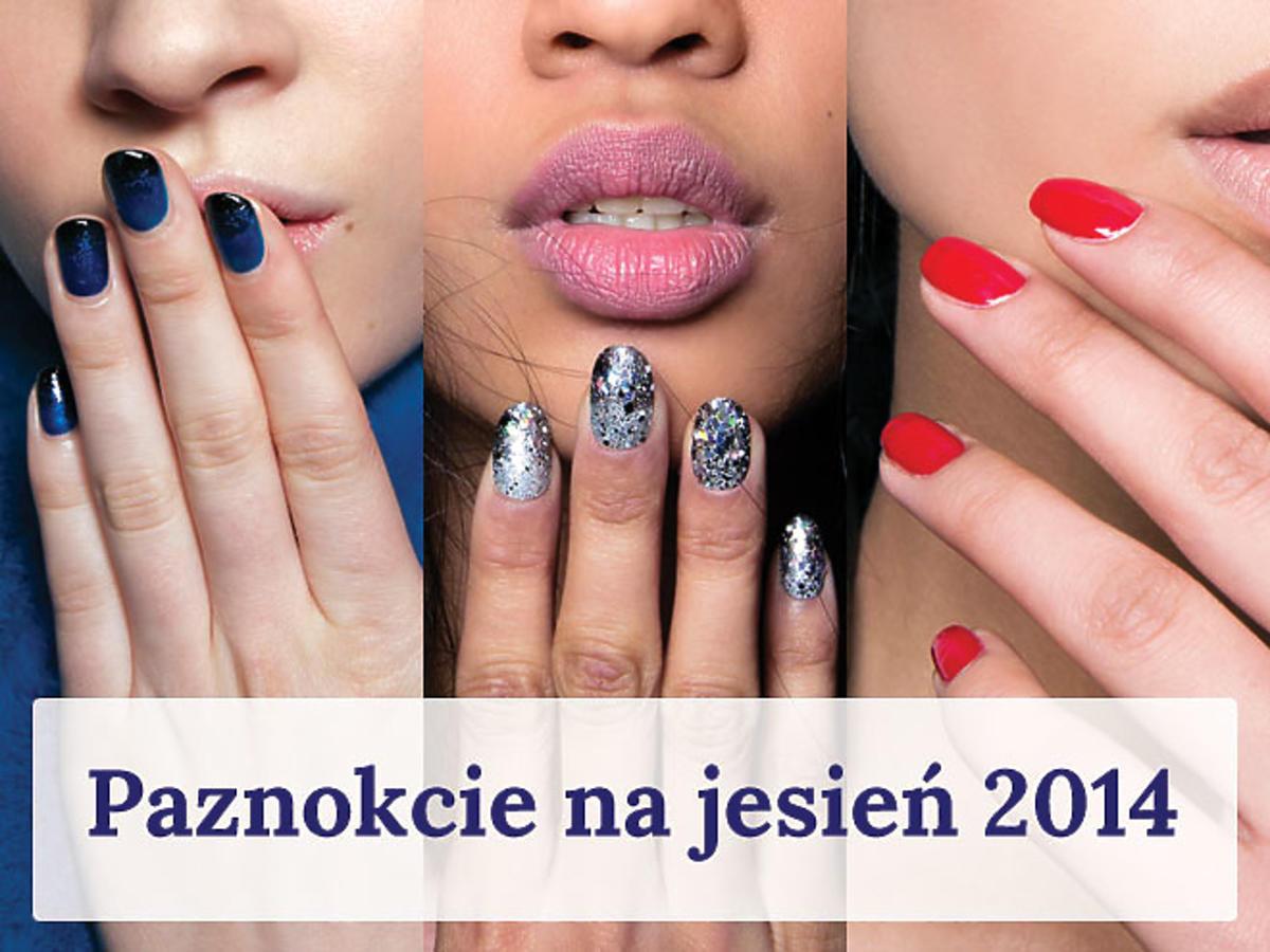 Manicure na jesień 2014