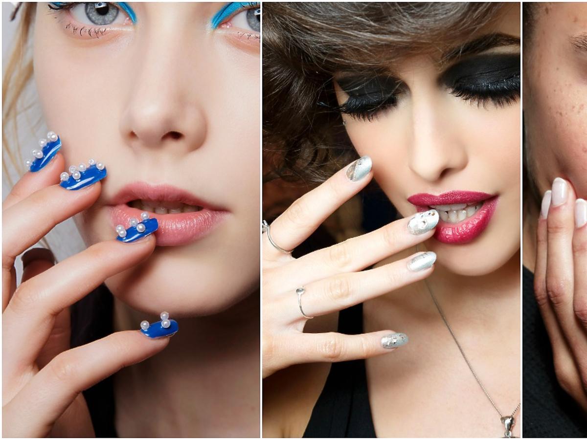 Manicure na wiosnę-lato 2015