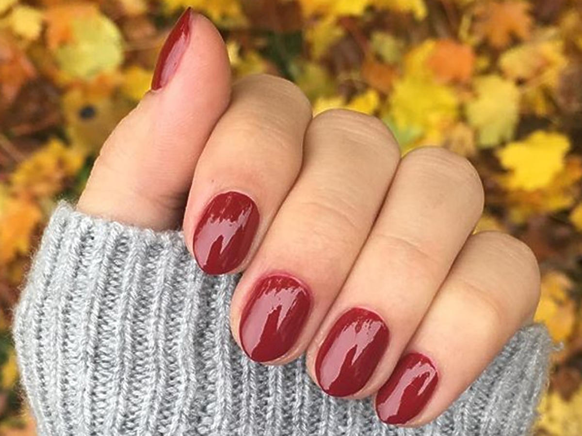 manicure trwały jak hybryda lakierami Sally Hansen