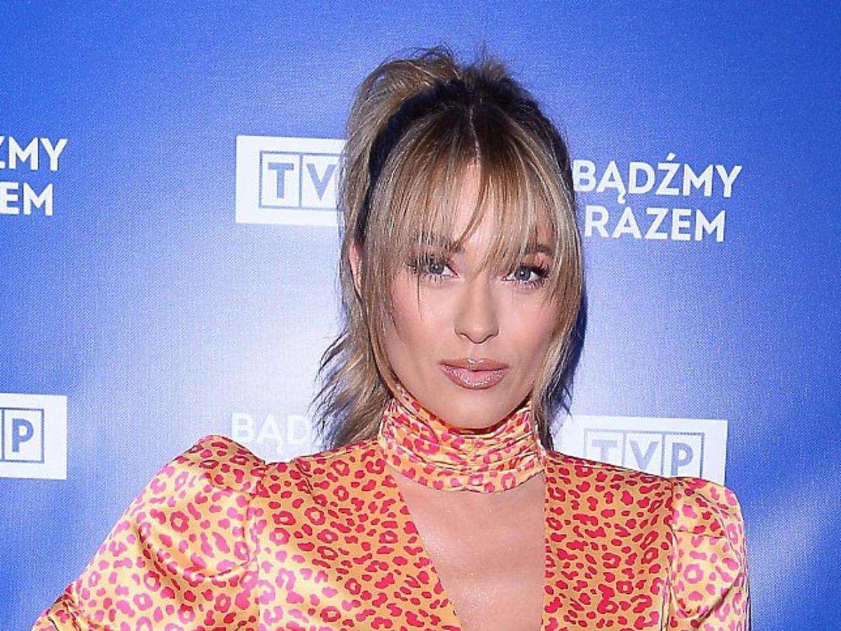 Marcelina Zawadzka na wiosennej ramówce TVP