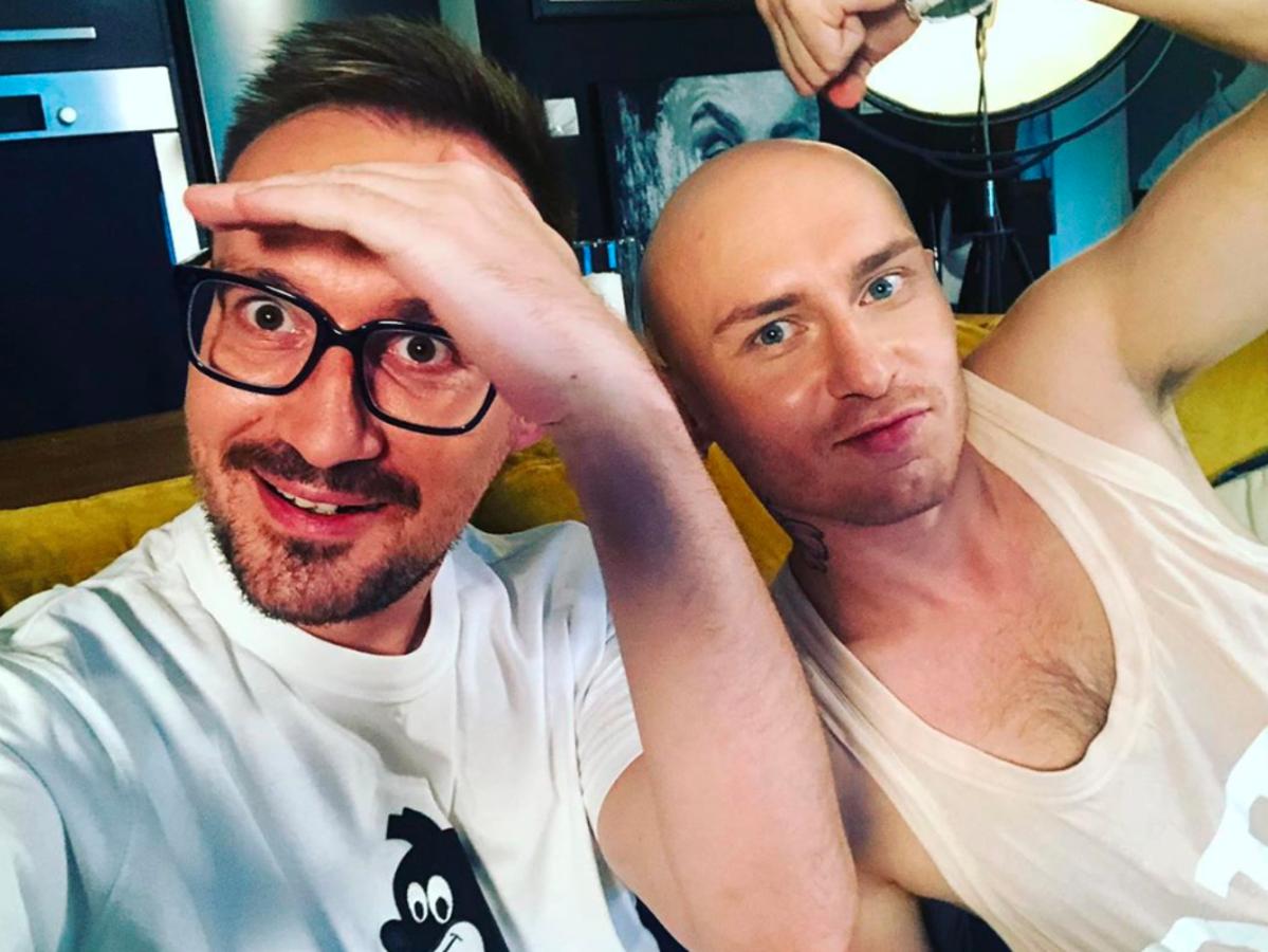 """Mariusz Kozak i Jacek Szawioła """"Gogglebox"""""""