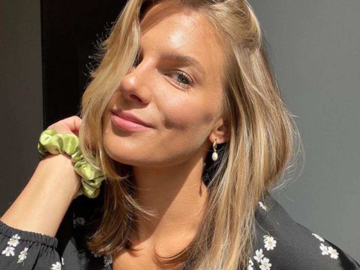 Marta Wierzbicka w modnej kamizelce pikowanej na jesień