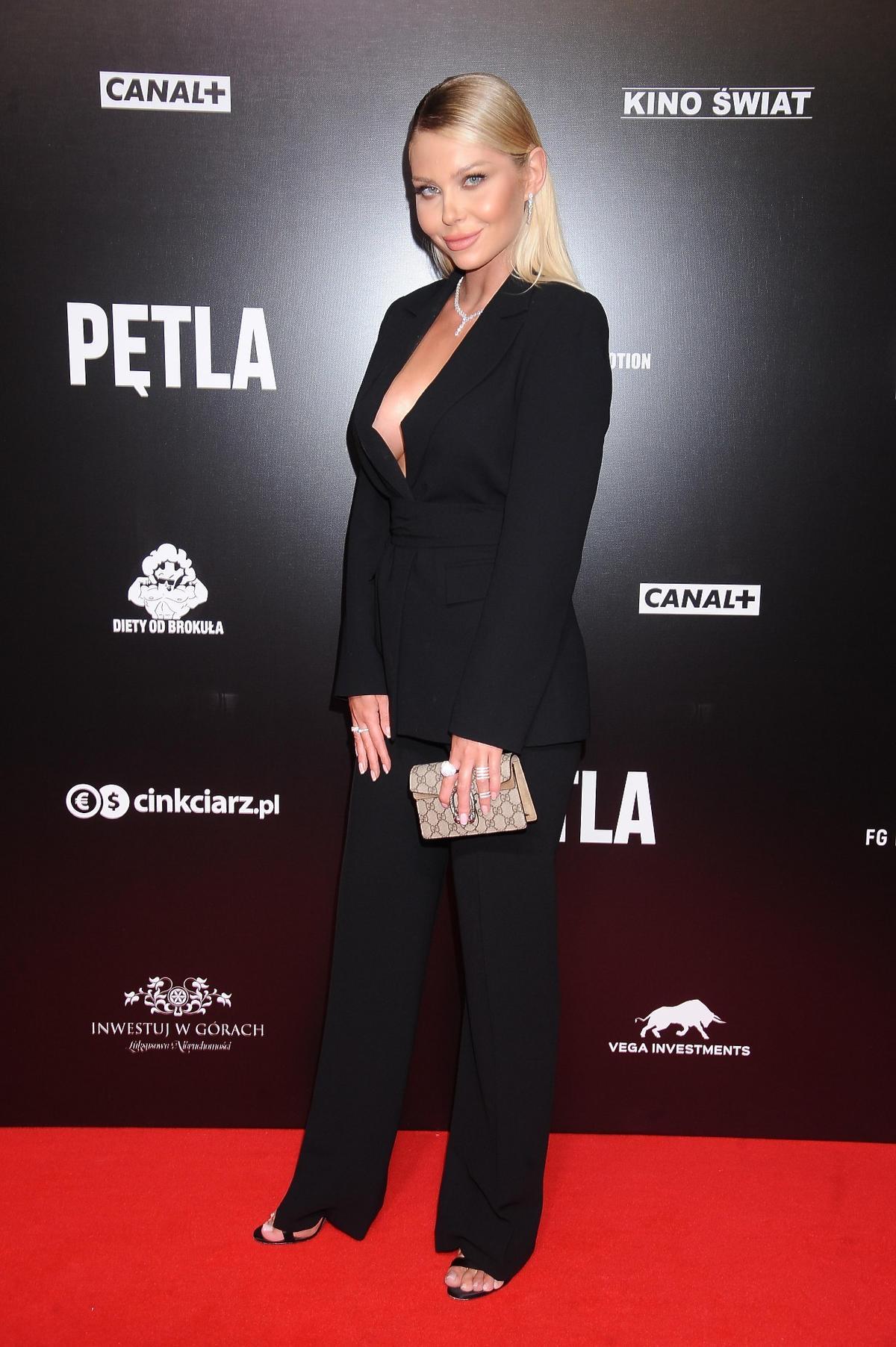 """Martyna Kondratowicz z """"Hotelu Paradise"""" na premierze filmu """"Pętla"""""""