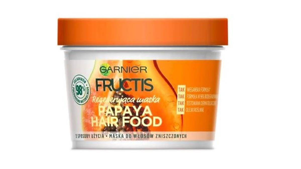 Maska do włosów Garnier Fructis Hair Food Papaya