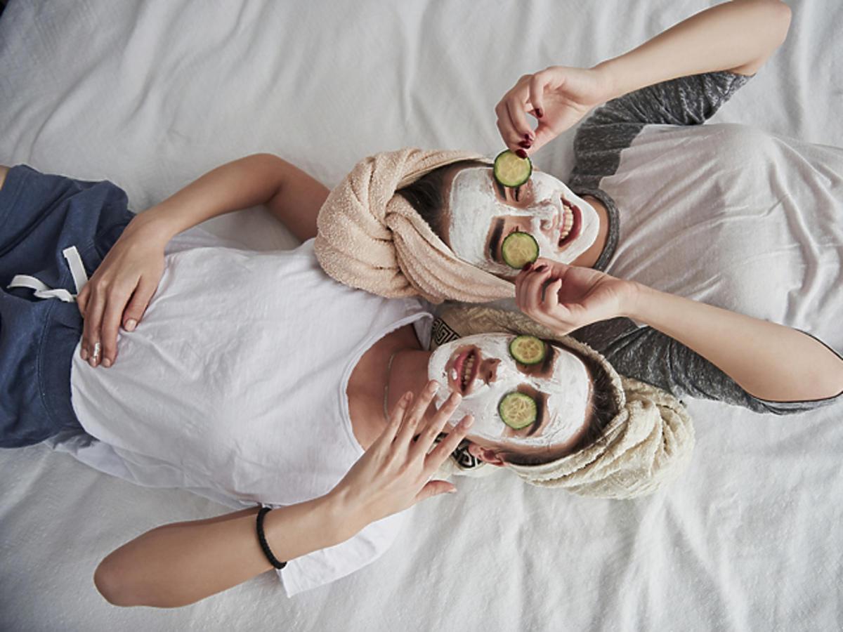 Maska na noc sleeping pack