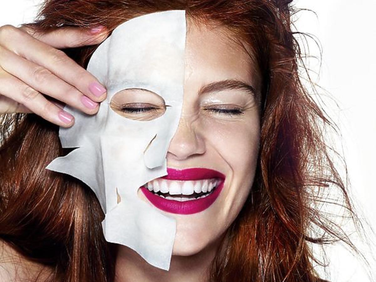 Maska w płachcie stosowanie