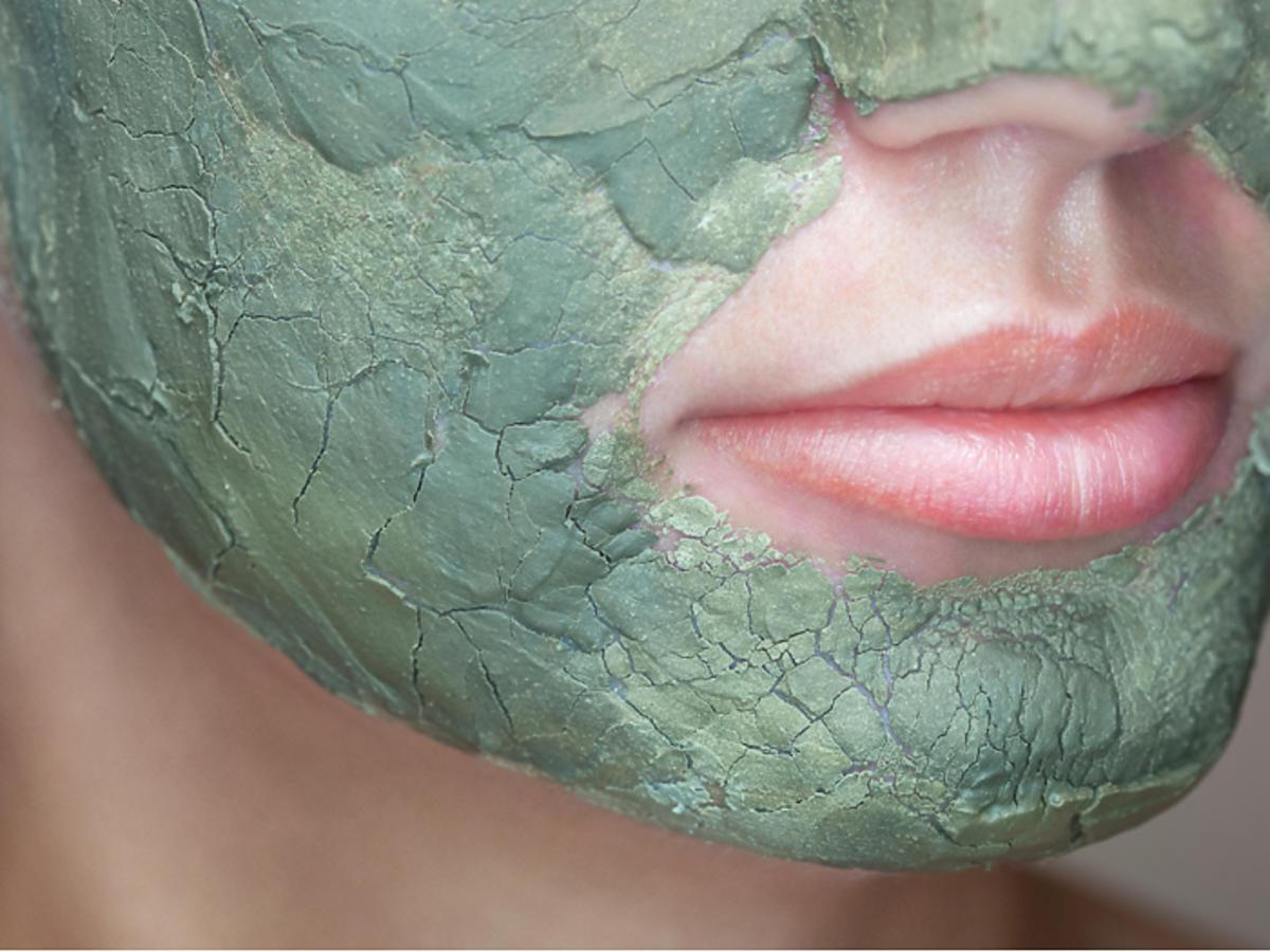 maska z algami