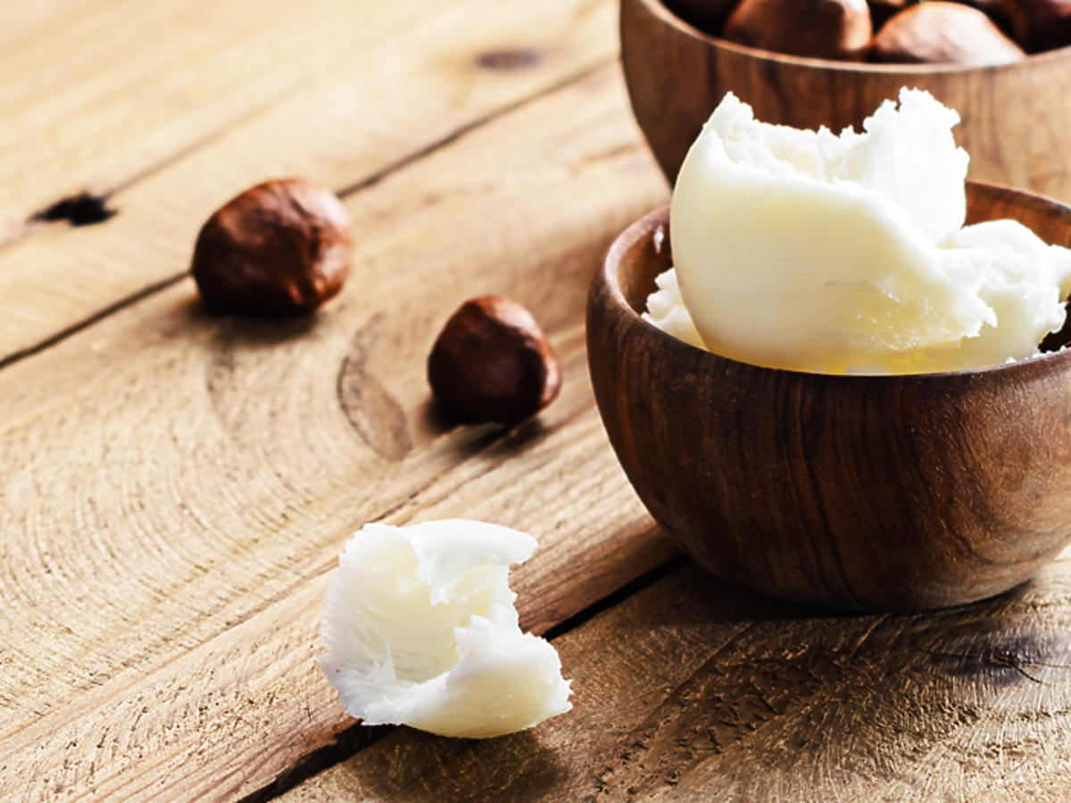 masło shea właściwości rafinowane nierafinowane rozstępy masło shea na twarz
