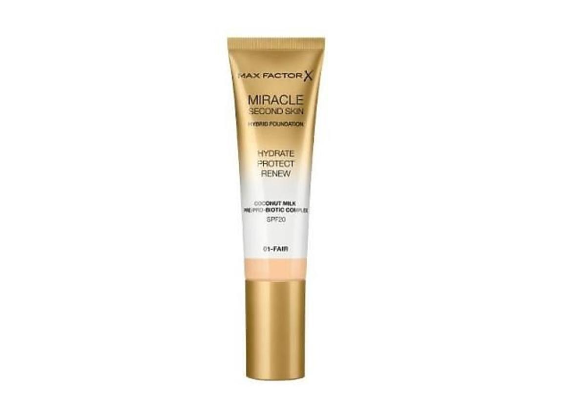 Max Factor, Miracle Second Skin Hybrid Foundation w promocji w rossmannie