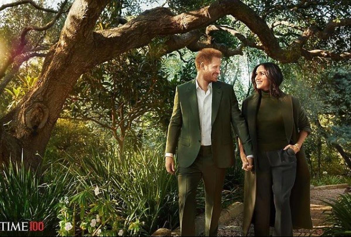 Meghan i Harry zretuszowani na okładce Time'a