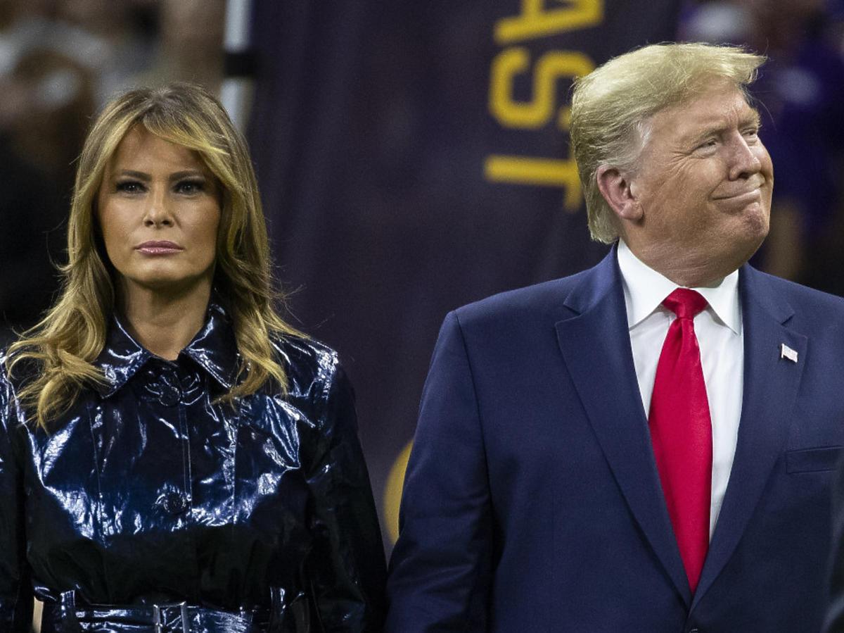 Melania Trump publicznie odrzuca czułości męża