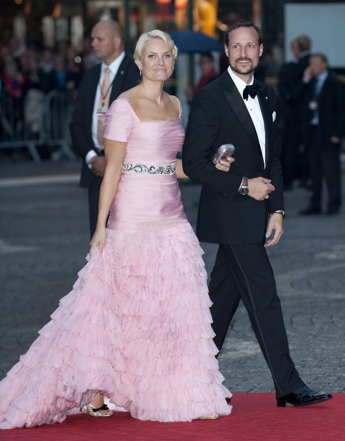 Mette-Marit z księciem Norwegii