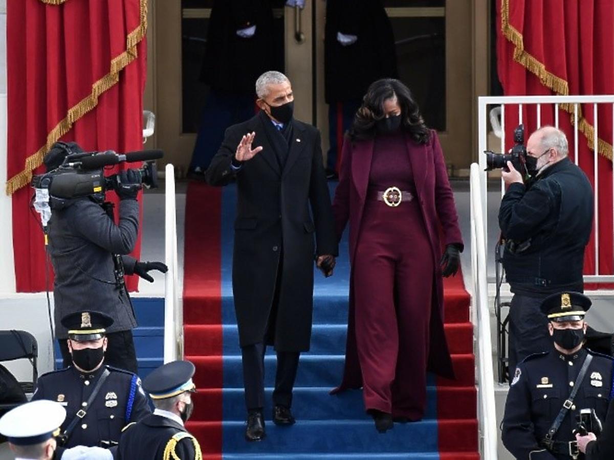Michelle Obama, Barrack Obama