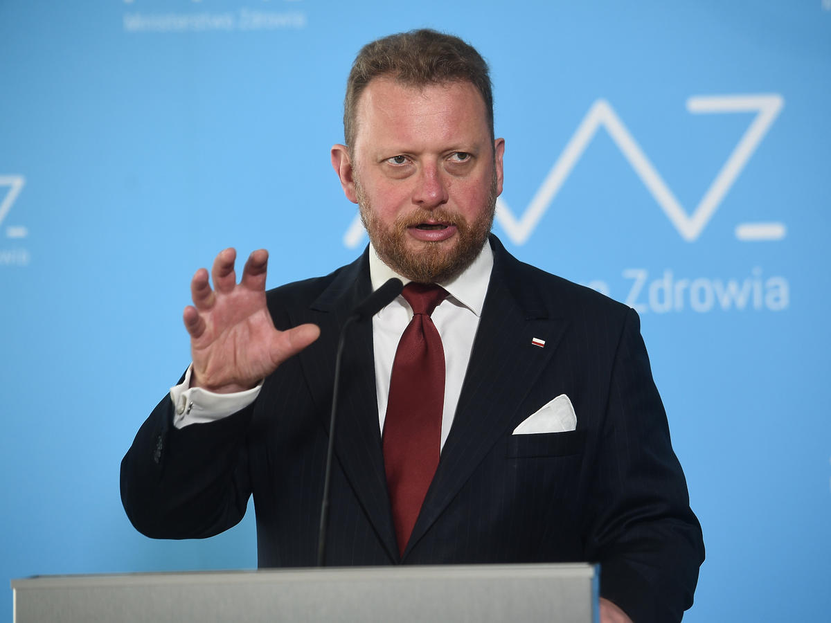 Minister Zdrowia - Łukasz Szumowski