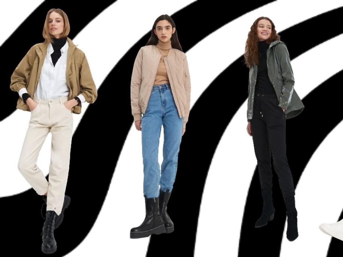 Modelki w kurtkach wiosennych