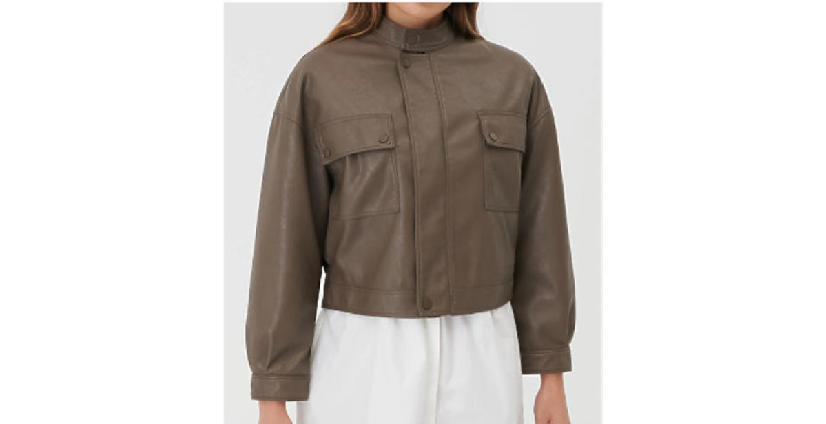 modna kurtka na jesień 2021 z Sinsaya