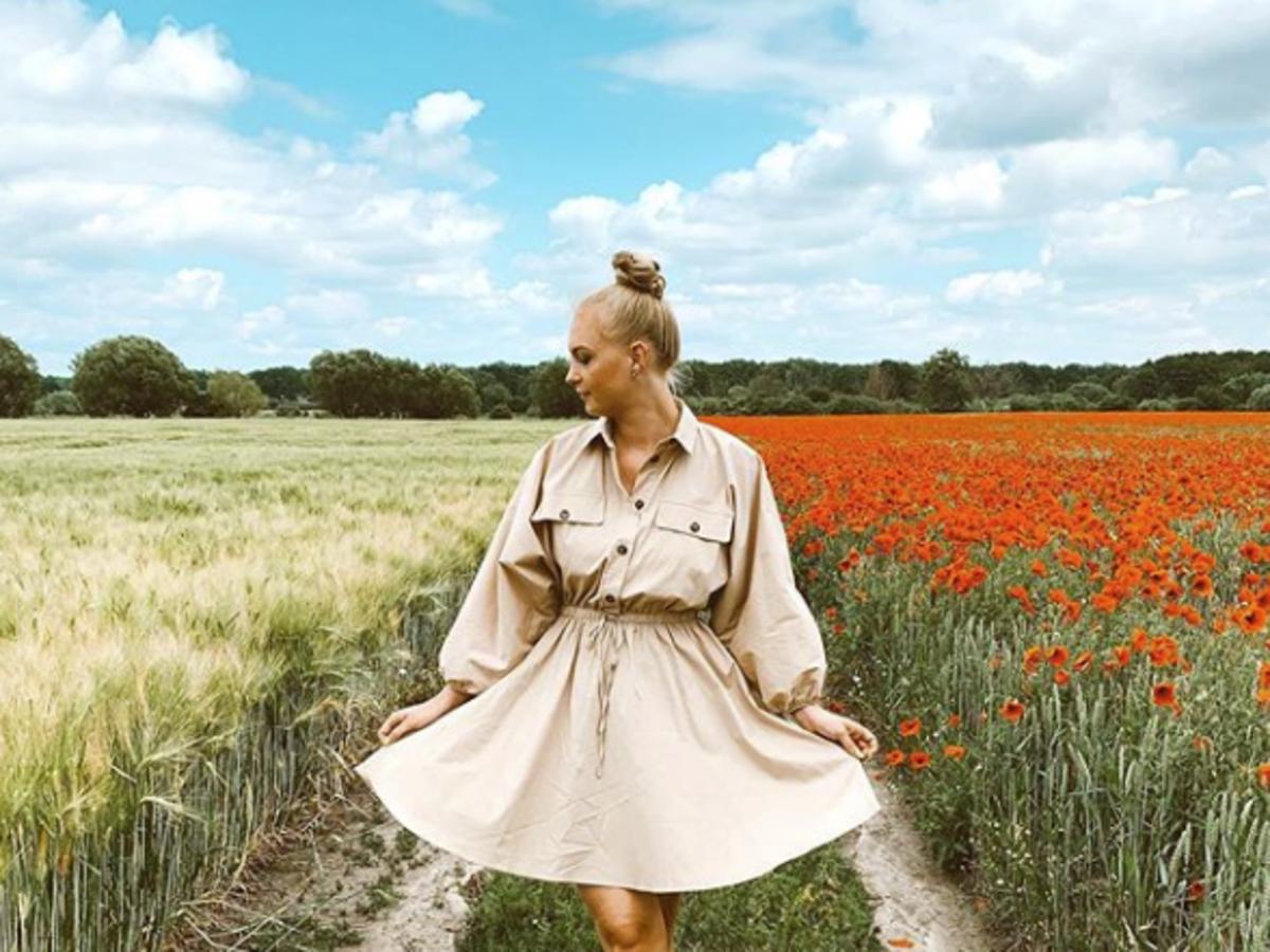 modna sukienka na lato 2020 przeceniona w mohito