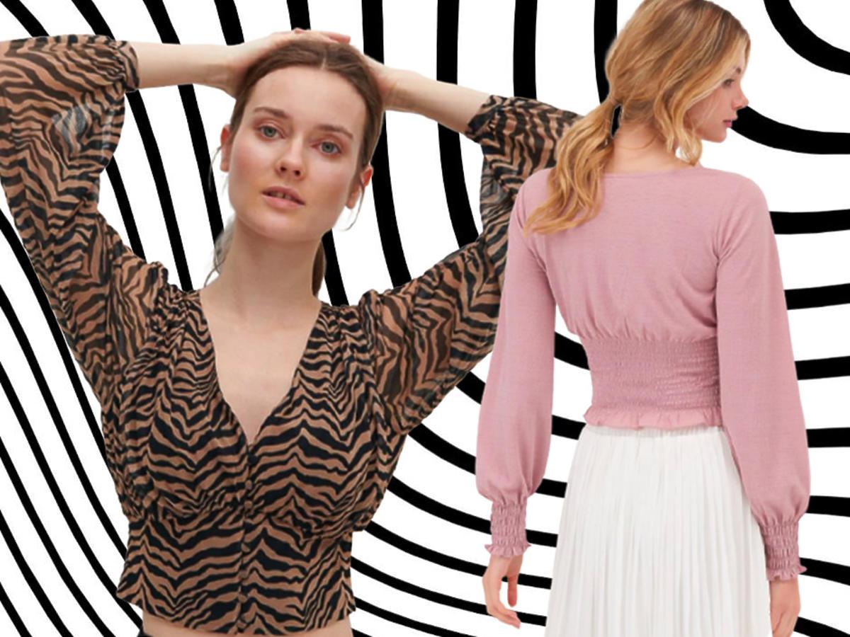 modne bluzki damskie 2021 przegląd sieciówek