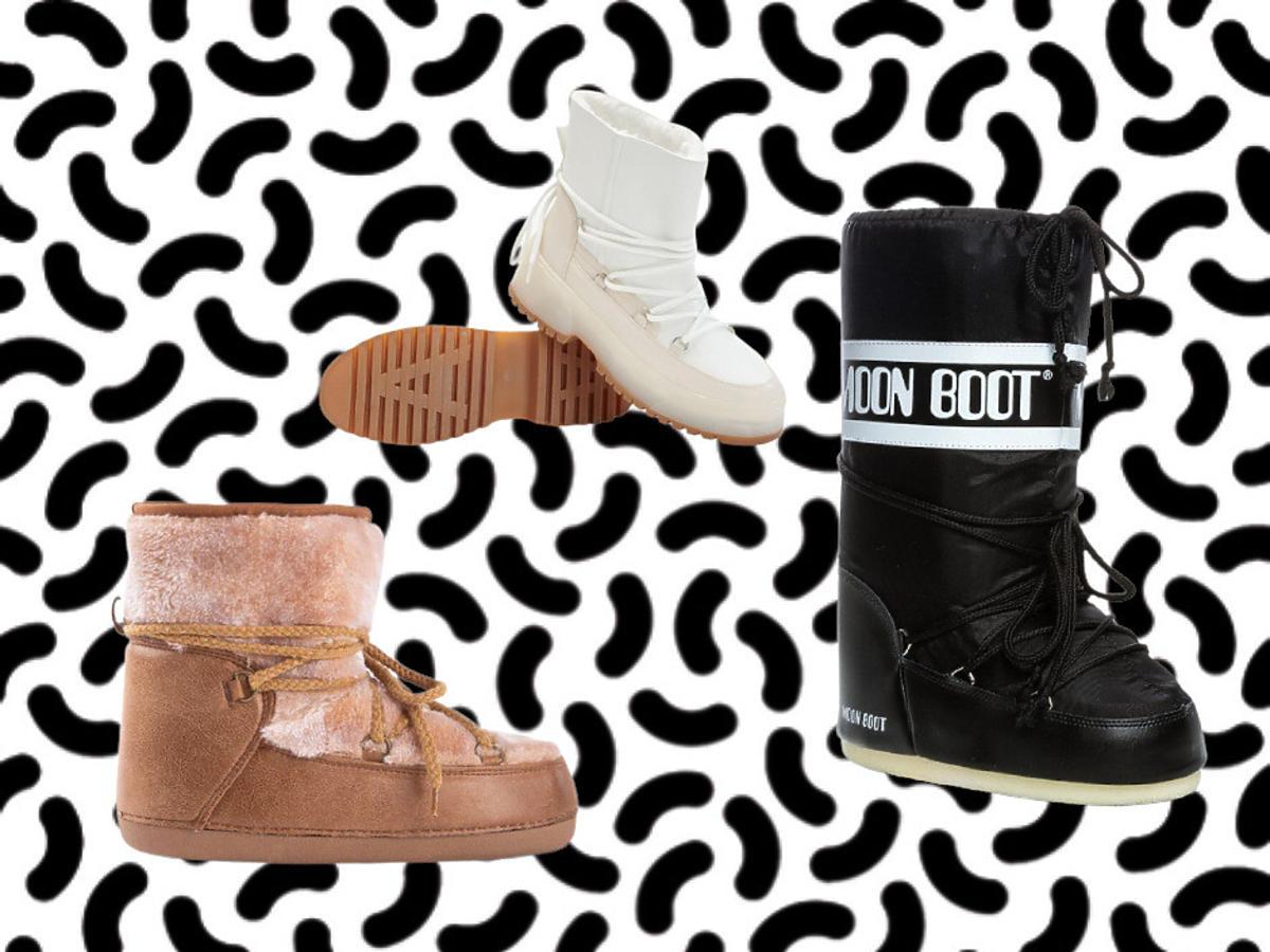 Modne buty - śniegowce