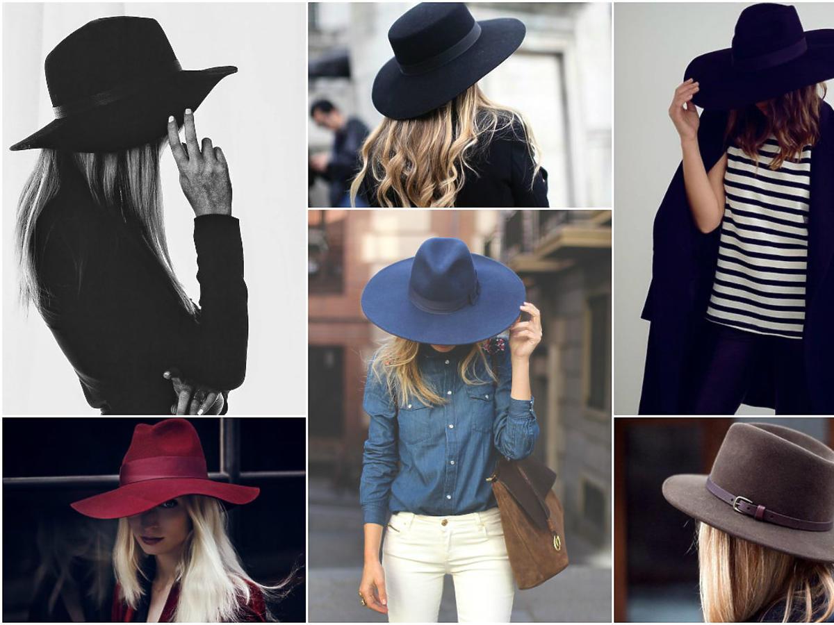 modne kapelusze jesień 2015 2016
