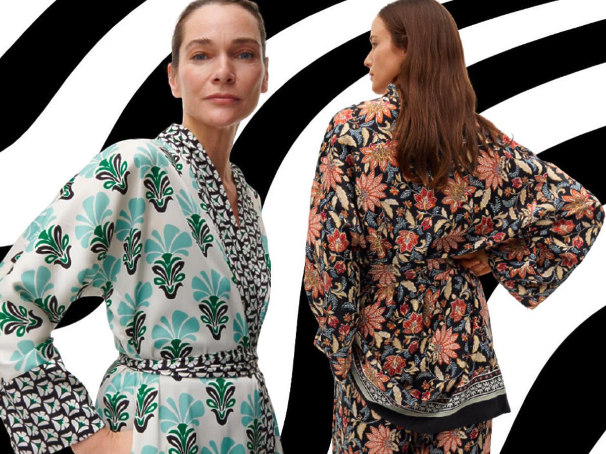 modne kimono