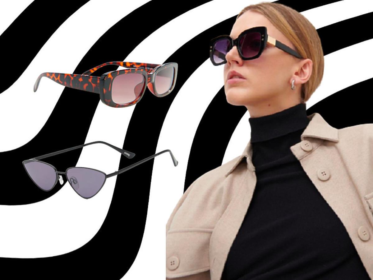 modne okulary przeciwsłoneczne z sieciówki