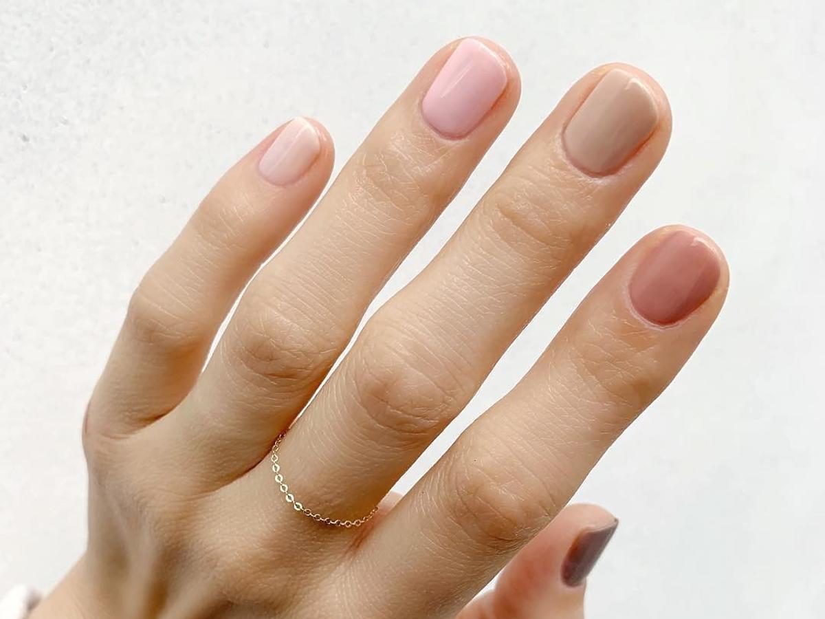 modne paznokcie jesień 2020 - paznokcie ombre w wersji gradient nails