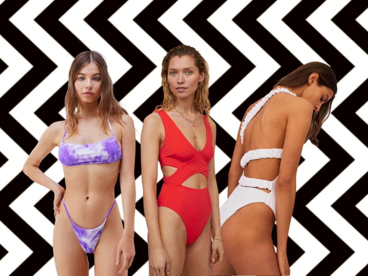 modne stroje kąpielowe 2021 z sieciówek
