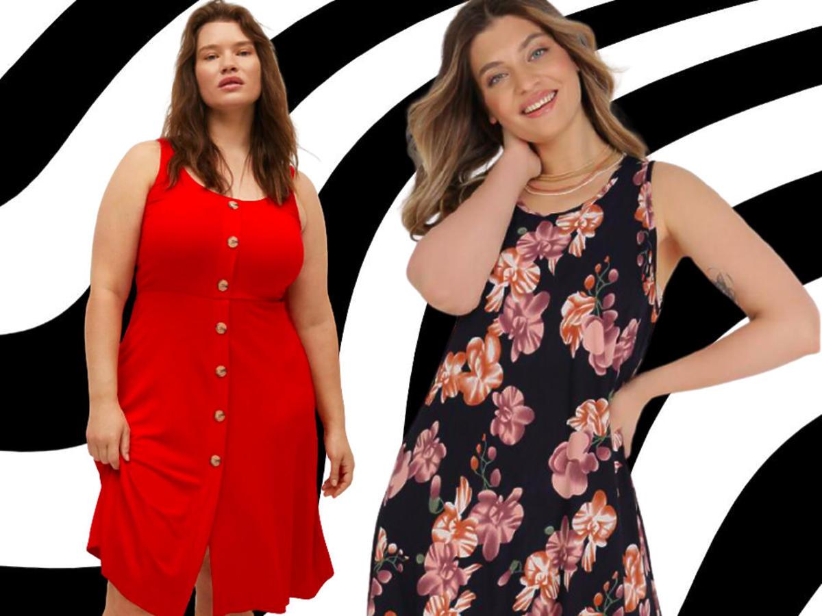 modne sukienki plus size z wyprzedaży, Mango, Born2Be
