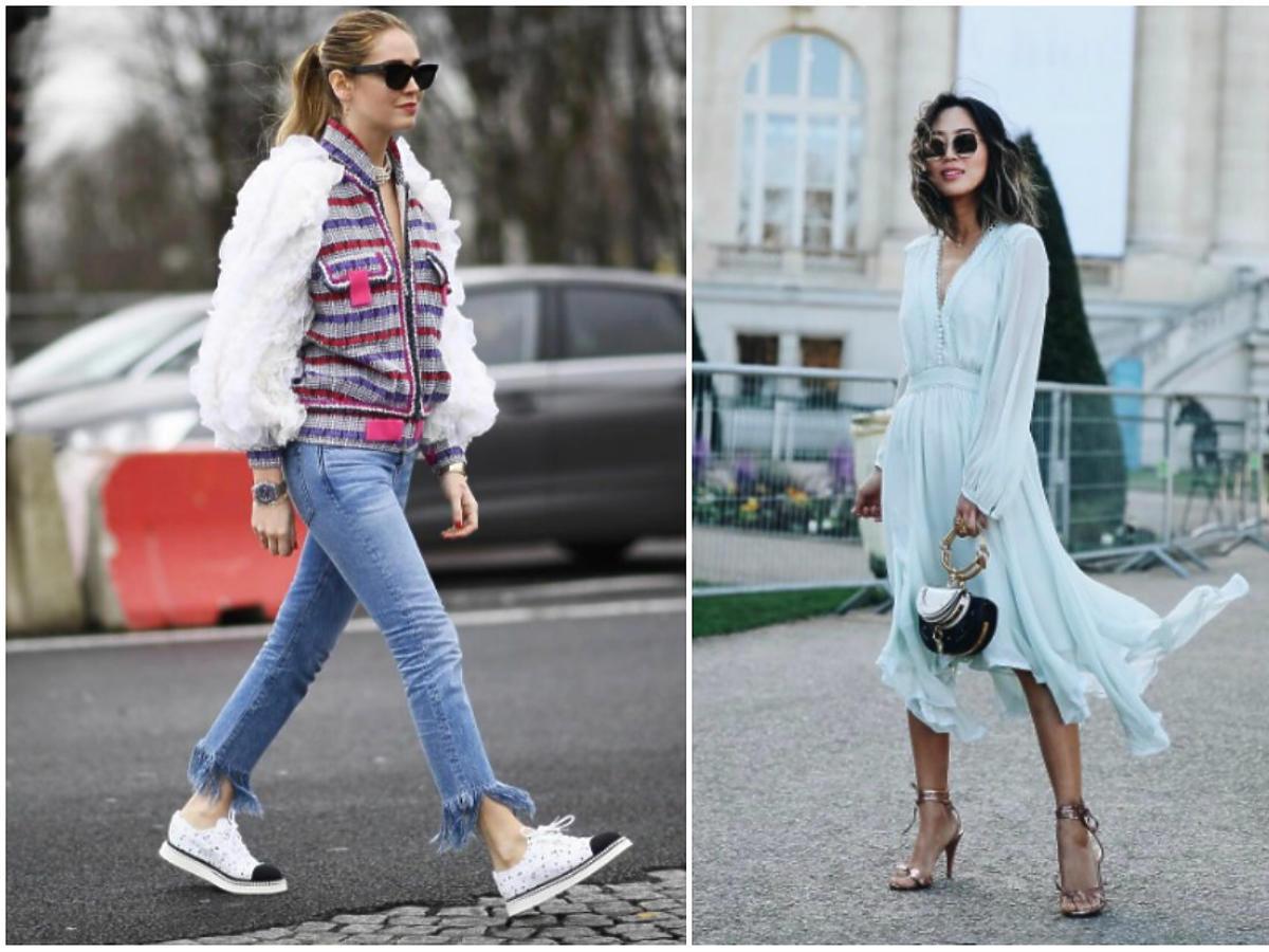 modne ubrania 2017 trendy stylizacje