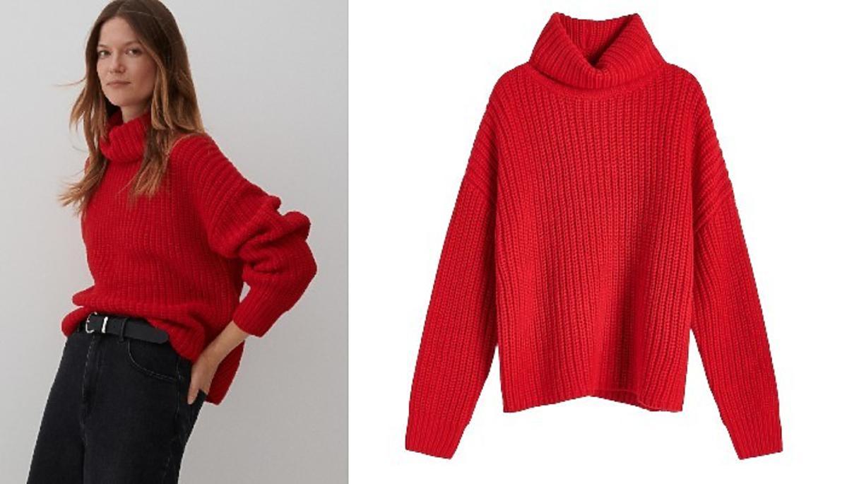 modny sweter na jesień z Reserved
